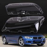 Headlight Lens Cover for BMW 3-Series E46 Coupe Cabrio M3 Pre-facelift 2000-03
