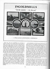 Ingoldmells illustrated local village history Lincolnshire Life May 1979 vgc
