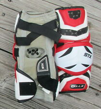 Used Stx Cell Ii Lacrosse Arm Elbow Pads ~ Size Sr M ~ Lax