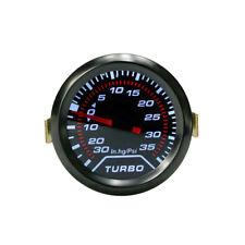 2″ 52mm Turbo Boost Gauge Pointer Digital LED Pressure Gauge Meter 35 Psi Smoked