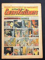 COEURS VAILLANTS 1947 n°36. Tintin Les 7 Boules de Cristal
