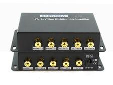 1x9 (1:9) 9-Way Composite RCA Video Splitter Distribution Amplifier SB-3702RCA
