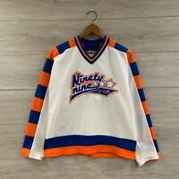 Vintage Wayne Gretzky #99 Edmonton Oilers Hockey Jofa Jersey Size Small