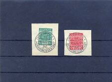 Nr. 124 X - 125 X Briefstücke