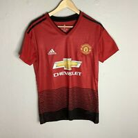 Manchester United Football Club Adidas Home Football Shirt 2018-2019 Size Small