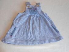 Ropa de bebé niñas de 0-3 meses-Bonito Vestido Azul siguiente -