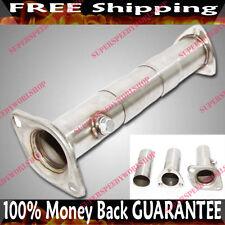 """SS Test Pipe for Honda Civic 92-00 Del Sol 93-97B D H F K Series ADJ. 16""""->19"""""""
