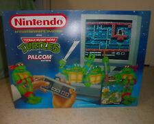 Nintendo Nes custom box TMNT Ninja Turtles console pack Insert FR