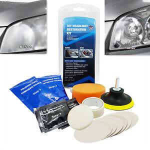 Headlight Maintenance Restoration Repair light lens Polishing Cleaner Car Tool