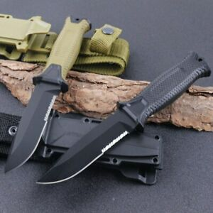 New Gerber Strong Fixed Blade Knife Tactical Outdoor Survival Hunting camping