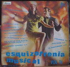 RAMON ROPAIN EZQUIZOFRENIA MUSICAL VOL. IV COMPIL COLOMBIA PRESS LP