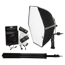 Fotodiox 20in Speedlite Softbox Kit for Nikon (3N) with Light Stand and Triggers