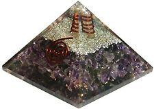 Natural Organite Sodalite Orgone Pyramid Energy Generator Spiritual Reiki Chakra