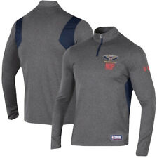 Under Armour New Orleans Pelicans Zion NBA Training 1/4 Zip Pullover Mens XL NEW