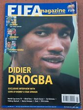 JULY 2005 FIFA MAGAZINE  DIDIER DROGBA ON COVER  SOCCER    FOOTBALL