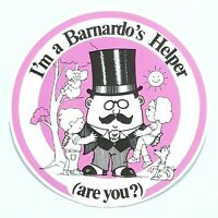 Vintage 1980s sticker - I'm A Barnardo's Helper ( Are You )