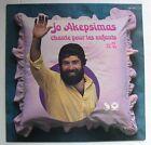 JO AKEPSIMAS (LP 33 Tours) CHANTE POUR LES ENFANTS N° 2