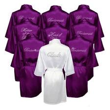 USA SELLER Bridesmaid Robes - Rhinestone Robes - Bride Robe - Bridesmaid Gifts