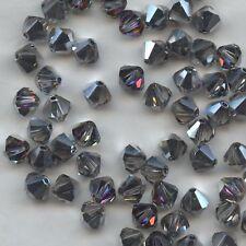 T6 5301 VO *** 15 toupies cristal Swarovski 6 mm CRYSTAL VOLCANO