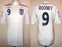 MAGLIA INGHILTERRA EURO 2008 UMBRO #9 ROONEY ENGLAND VINTAGE SHIRT JERSEY CALCIO