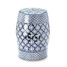 Blue and White Ceramic Decorative Stool, FREE SHIPPING