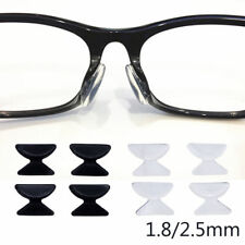 Pair of Silicone Non-slip Stick on nose pads for Sunglasses Glasses Spectacles