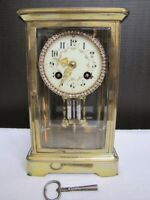 Antique Medaille D'OR Pairs 1900 French Regulator Jewelry Clock