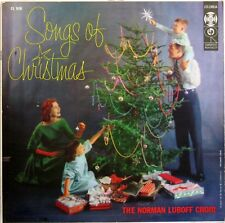 THE NORMAN LUBOFF CHOIR SONGS OF CHRISTMAS ORIGINAL 1956 LP COLUMBIA CL 926 MONO