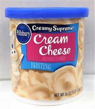 Pillsbury Creamy Supreme Cream Cheese Frosting 16 oz