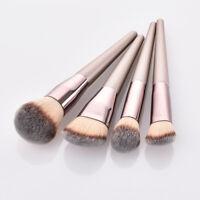4Pcs Wooden Handle Makeup Brush Set Powder Foundation Eyeshadow Brushes jian