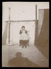 fotografia d'epoca albumina fine '800 BAMBINA-CHILD-KIND-ENFANT 1