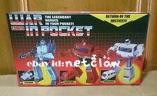 Transformers DX9 War in Pocket 01 Speedoo 02 Guartinel 03 Medilance in Stock