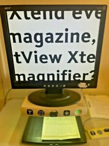 """Humanware Smartview Xtend + 19"""" LCD Low Vision Video Magnifier REFURBISHED"""
