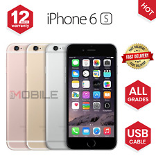 Apple iPhone 6S 16GB/64GB/128GB Unlocked Sim Free Smartphone - ALL COLOURS