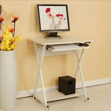 Home Office Study Work Station Computer Laptop Desk Table PC Keyboard Storage
