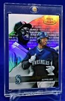 KEN GRIFFEY JR GOLD LABEL CLASS REFRACTOR RARE SP BEAUTY MARINERS HOF