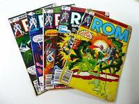 Marvel ROM (1980) #3 4 5 7 8 Ungraded Reader LOT Ships FREE!