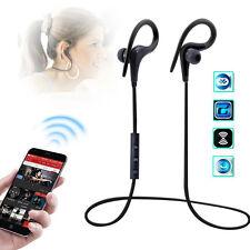 Sweatproof Wireless Bluetooth 4.1 Earphone Ear Hook Headphones Headset Sport Gym