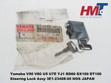 Yamaha V50 V80 U5 U7E YJ1 RD60 DX100 DT100 Steering Lock Assy 3E1-23408-00 NOS