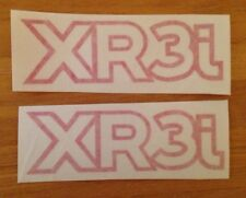 Ford Escort XR3i Mk4 Pair of Wing decals Red
