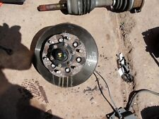 NISSAN ELGRAND E50 4WD PASSENGER NEAR SIDE FRONT HUB DISC WITH ABS SENSOR