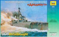 HMS Dreadnought-WW I British Cuirassé 1/350 ZVEZDA