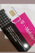 T-Mobile UNLIMITED Data Talk $75 ONE Sim 4G LTE USA Mexico Canada travel prepaid
