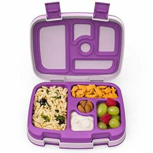 Kids Children's Lunch Box - Leak-Proof, 5-Compartment Bento-Style Kids Lunch B