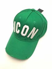 "Dsquared2 - Dsquared Hat - Model ""ICON"" Cappello Green Hat"