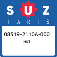 08319-2110A-000 Suzuki Nut 083192110A000, New Genuine OEM Part