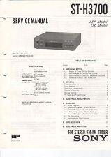 SONY - ST-H3700 - Service Manual Schaltbild - B3093