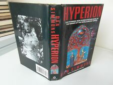 dan simmons  hyperion  1st edition in d/w