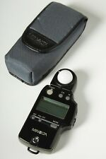 Minolta Auto Meter Iv F Digital Exposure Flash / Ambient Light Meter