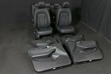 Audi Q5 8R pelle Sedili Interni Black Destro Mano Drive Cars Rhd pelle Sedili